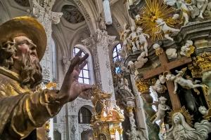 Barocke Opulenz im Klosterstift Neuzelle. Foto: Dietmar Päschel